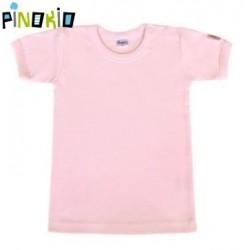 Tričko kr.rukáv PINOKIO - růžová