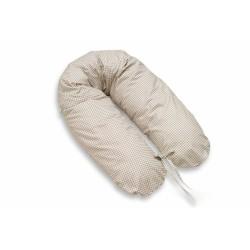 Kojící polštář - relaxační poduška Multi - Kostička hnědá