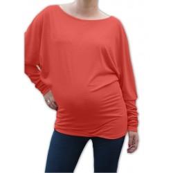 Symetrická těhotenská tunika - losová