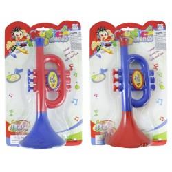 Trumpeta plastová malá, 2 druhy