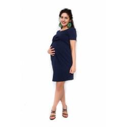 Těhotenské šaty Vivian - granát