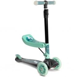 Dětská koloběžka Toyz Tixi mint, Zelená