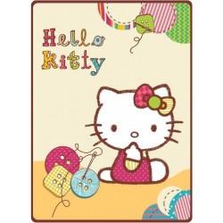Licenční dečka Hello Kitty - knoflíky