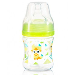 Antikoliková lahvička se širokým hrdlem Baby Ono - zelená