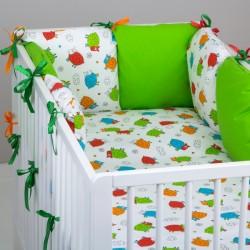 Mantinel Baby Nellys ® - polštářkový s povlečením vzor č. 278108