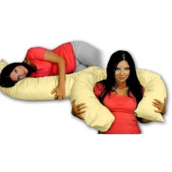Kojící polštář - relaxační poduška RELAX DELUXE béžová
