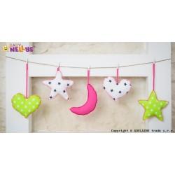 Sada dekorací STARS be LOVE č. 1
