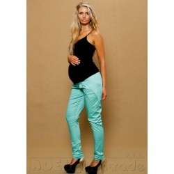 Těhotenské kalhoty ALADINKY  - Mátové