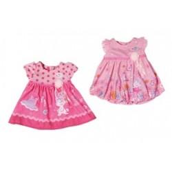 BABY born šaty, 2 druhy
