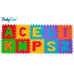 Pěnové puzzle Baby Ono - Písmena - 10ks