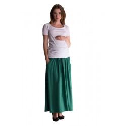 Maxi dlouhá sukně MAXINA  - zelená