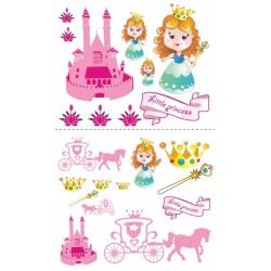 Nástěnná dekorace Malá princezna