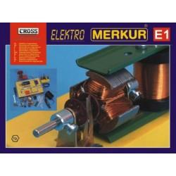 Stavebnice MERKUR E1 elektřina, magnetizmus v krabici