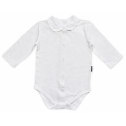 Body dl.rukáv zap. uprostřed NICOL ELEGANT BABY GIRL