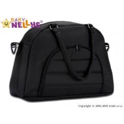 Taška na kočárek Baby Nellys ® ADELA LUX - černá
