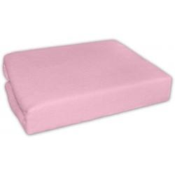 Jersey prostěradlo - Růžové - 120x60