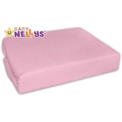 Jersey prostěradlo - Růžové - 90x90cm