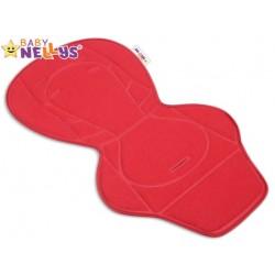 Vložka do kočárku Baby Nellys ® - červená