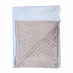 Mamatti Dětská deka, dečka Little Man 75 x 90 cm - Minky/ bavlna