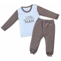 Mamatti Bavlněné pyžamko Little Man
