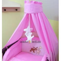 Luxusní 5D set CL - Oslík růžový