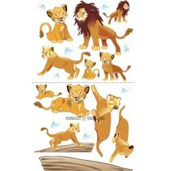 Nástěnná dekorace Lví král