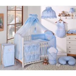 Luxusní mega set s moskytiérou - Snílek modrý