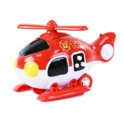 Helikoptéra hasiči zvuk, světlo