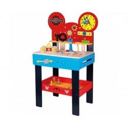 Velký dřevěný stůl s nářadím Disney,  45 x 30 x 80 cm