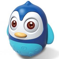 Kývací hračka Bayo tučňák blue, Modrá