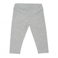 Kojenecké bavlněné legíny New Baby Leggings šedé, Šedá, 56 (0-3m)