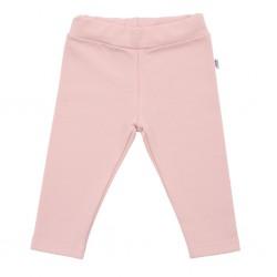 Kojenecké bavlněné legíny New Baby Leggings světle růžové, Růžová, 56 (0-3m)