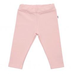 Kojenecké bavlněné legíny New Baby Leggings světle růžové, Růžová, 62 (3-6m)