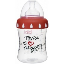 Bibi Široko hrdlá láhev Papa is the best 250 ml