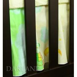 Darland VÝPRODEJ Krásný volánek pod matraci - Obláček zelený