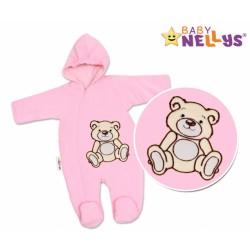 Kombinézka/overálek TEDDY BEAR - růžová