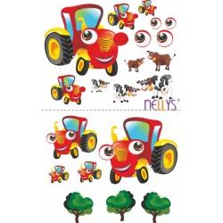 Nástěnná dekorace - Traktor