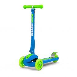 Dětská koloběžka Milly Mally Magic Scooter blue-green, Multicolor
