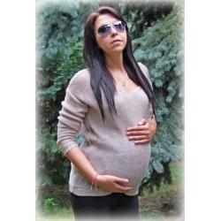 Svetřík Perlička nejen pro těhotné - béžová
