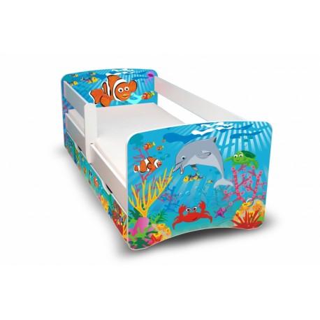 Dětská postel Oceán II. s šuplíkem
