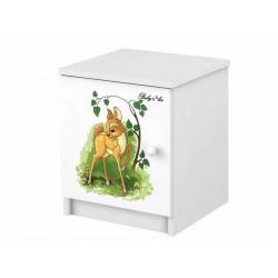 BabyBoo Noční stolek s motívem Bambi