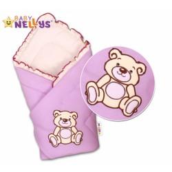 Zavinovačka TEDDY BEAR Baby Nellys - jersey - jersey - lila