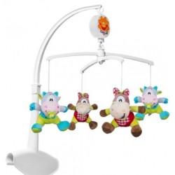 Kolotoč nad postýlku Baby Ono - Kravičky a koníčci