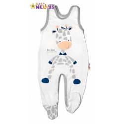 Bavlněné kojenecké dupačky ŽIRAFA Baby Nellys ®