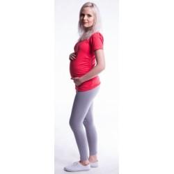 Těhotenské legíny - béžové