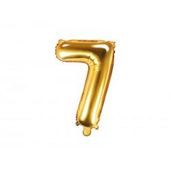 Balónek nafukovací číslo 7, 35 cm