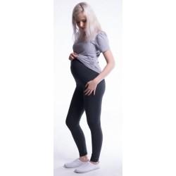 Těhotenské legíny - žluté