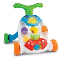 Dětské interaktivní chodítko s míčky
