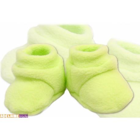 Botičky/ponožtičky POLAR - zelené