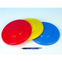 Létající talíř plast průměr 23cm asst 3 barvy 12m+